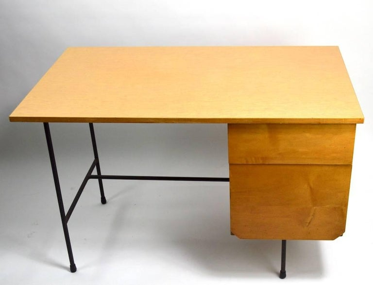 American Mid Century Desk and Chair Attributed to Pascoe For Sale