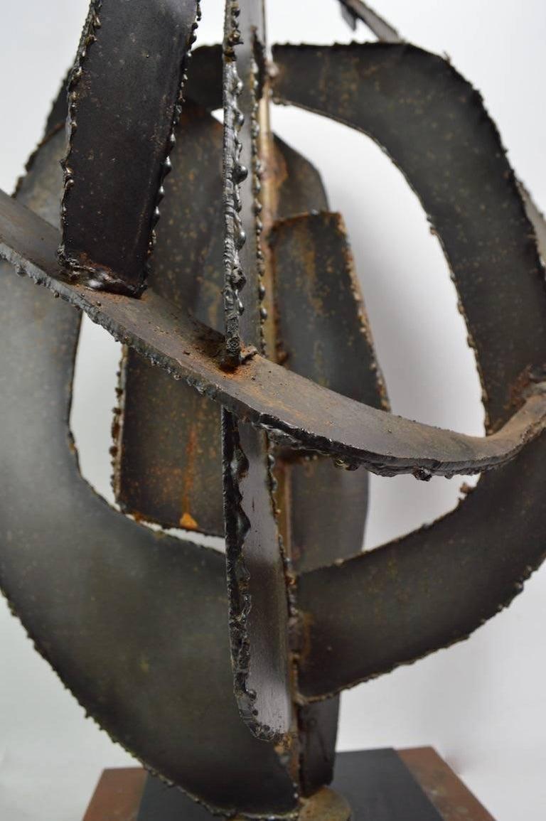 American Brutalist Lamp by Balmer for Laurel For Sale