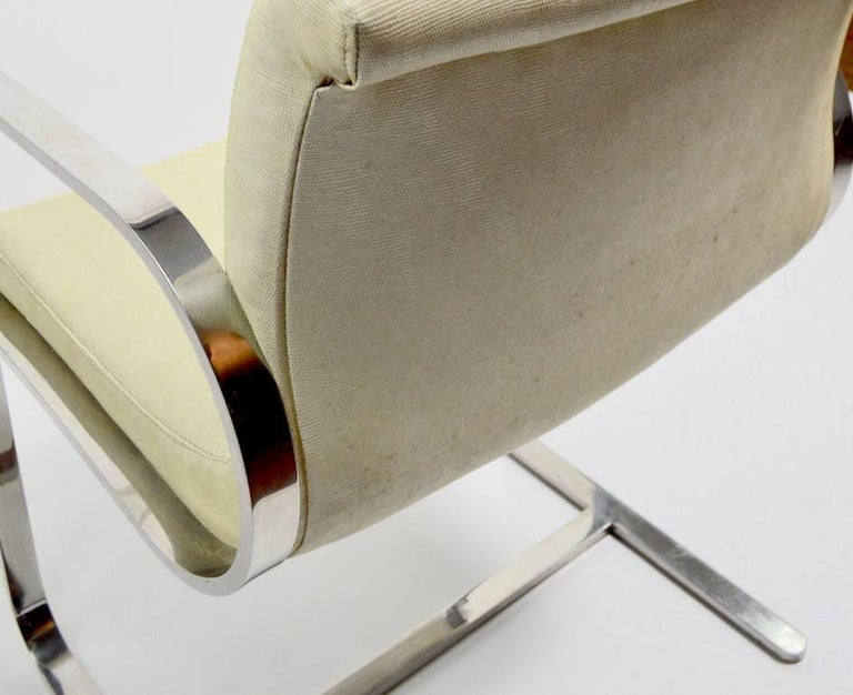 Pair of Brno Style Chairs Attributed to Brueton For Sale 5
