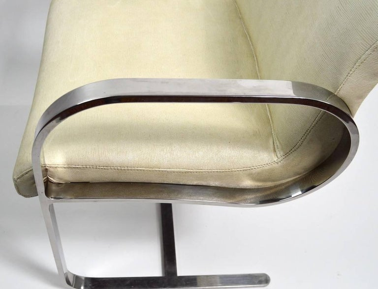 Pair of Brno Style Chairs Attributed to Brueton For Sale 3
