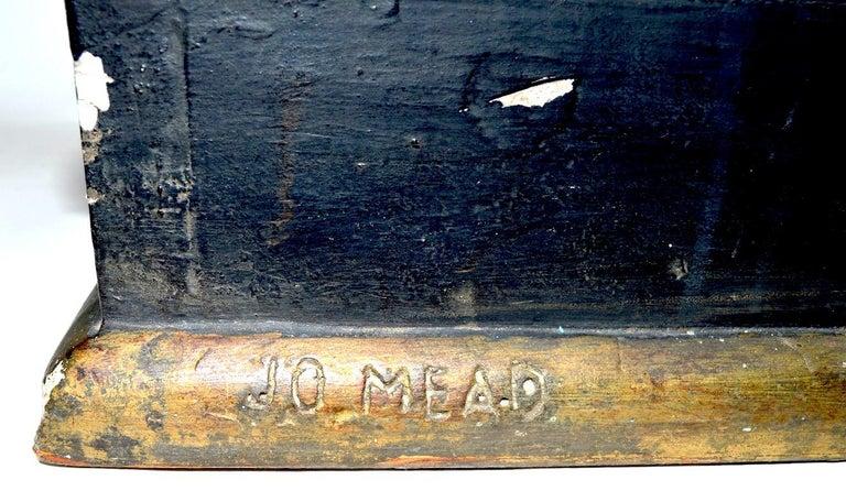 Blackamoor Tray Table by Jo Mead For Sale 4