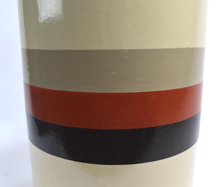 Mod Ceramic Lamp by Philmar Sandel In Good Condition For Sale In New York, NY