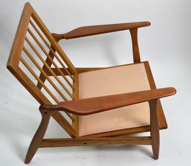 Danish Pair of Arne Hovmand Olsen for Mogens Kold Lounge Chairs For Sale