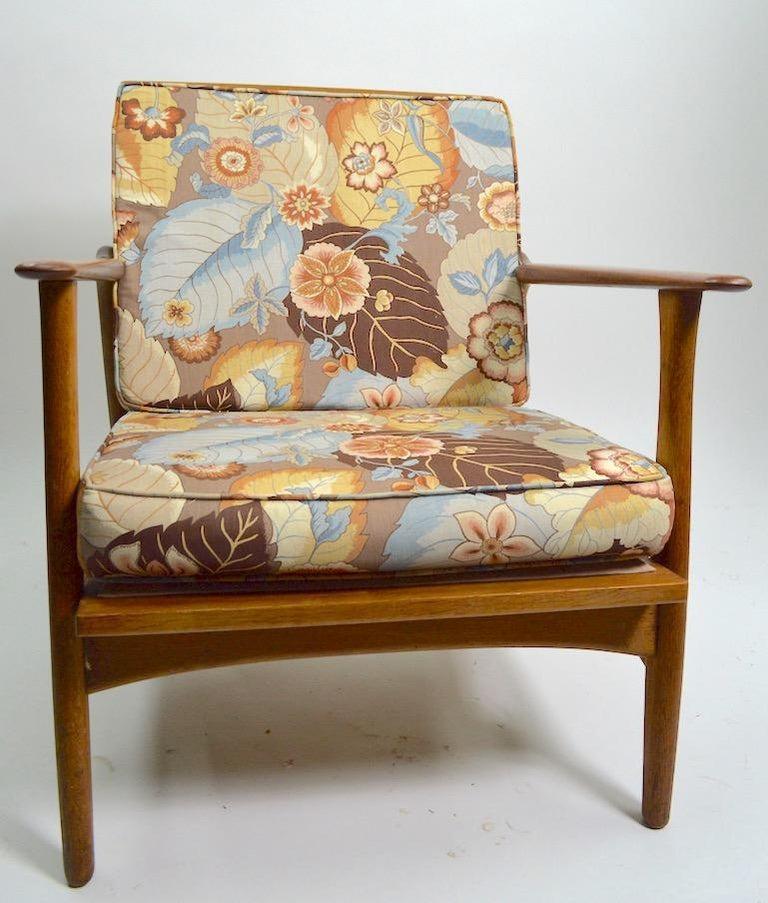 Pair of Arne Hovmand Olsen for Mogens Kold Lounge Chairs For Sale 5