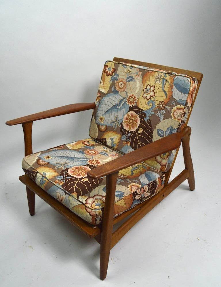 Pair of Arne Hovmand Olsen for Mogens Kold Lounge Chairs For Sale 6