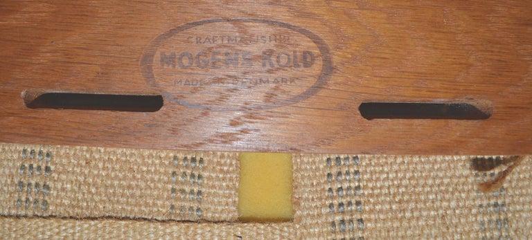 Pair of Arne Hovmand Olsen for Mogens Kold Lounge Chairs For Sale 8