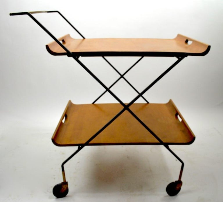 Mid Century Cart by Baughman for Murrey Furniture For Sale 2