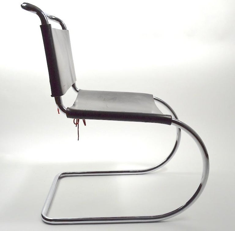 German Three MR Chairs design by Ludwig Mies van der Rohe For Sale