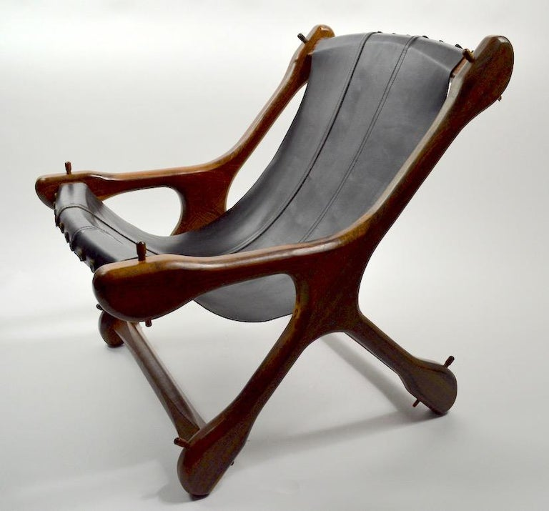 Mexican Don Shoemaker Sloucher Lounge Chair For Sale