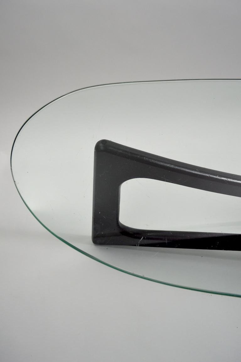Amoeba Glass Coffee Table by Adrian Pearsall for Craft Associates For Sale 1