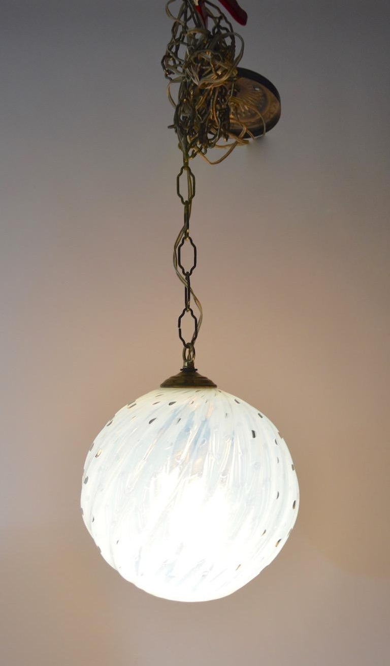 Murano Controlled Bubble Hanging Globe Shade Chandelier Fixture For ...