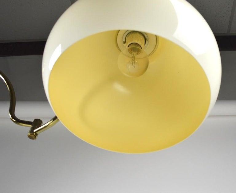 Adjustable Swing Arm Floor Lamp by Laurel For Sale 1