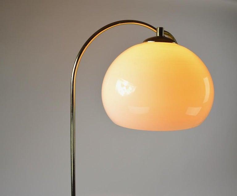 Adjustable Swing Arm Floor Lamp by Laurel For Sale 4