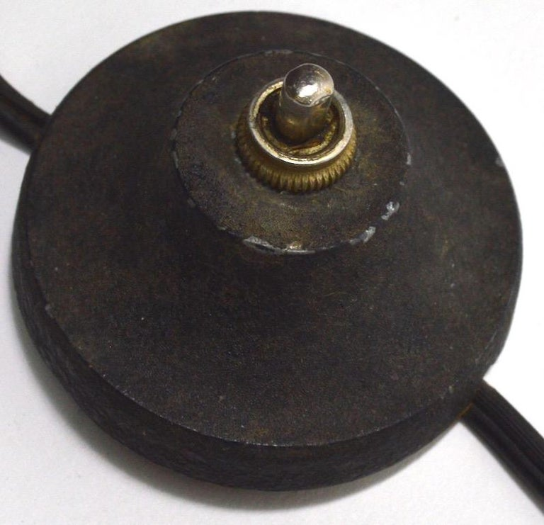 Adjustable Swing Arm Floor Lamp by Laurel For Sale 8