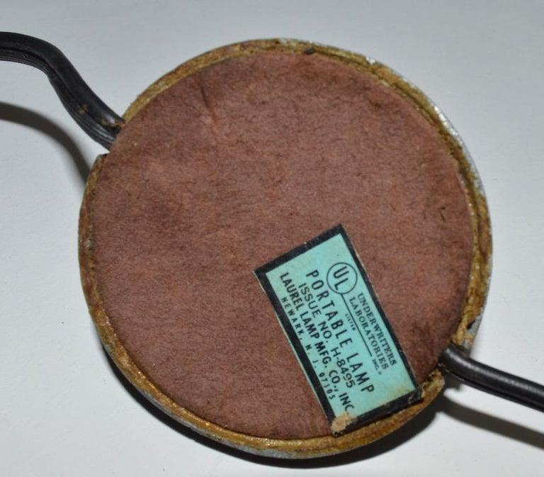Adjustable Swing Arm Floor Lamp by Laurel For Sale 9