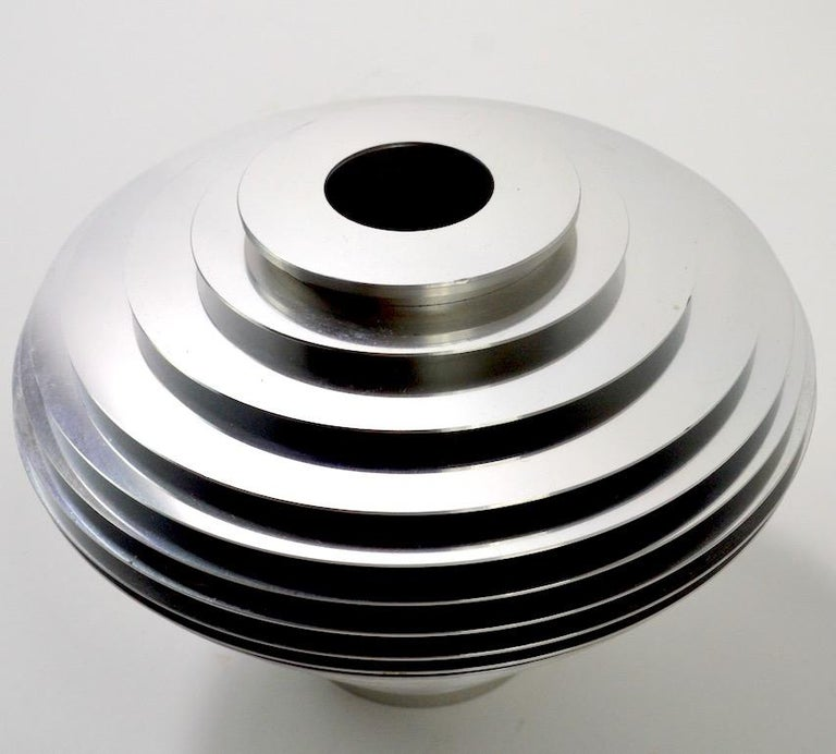 Post-Modern Saturn Vase by Avedis Baghsarian For Sale