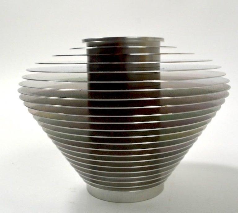 American Saturn Vase by Avedis Baghsarian For Sale