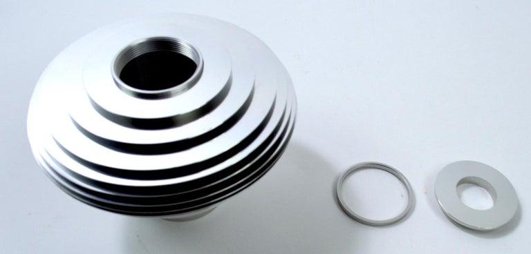 Aluminum Saturn Vase by Avedis Baghsarian For Sale