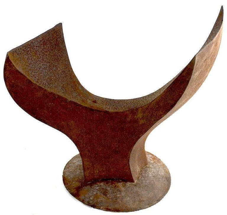 Welded Brutalist Sculpture by Noted Artist Jack Hemenway For Sale