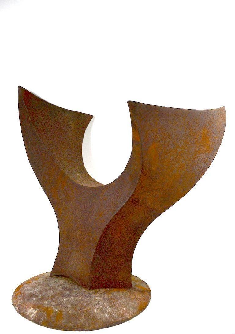 Brutalist Sculpture by Noted Artist Jack Hemenway For Sale 4