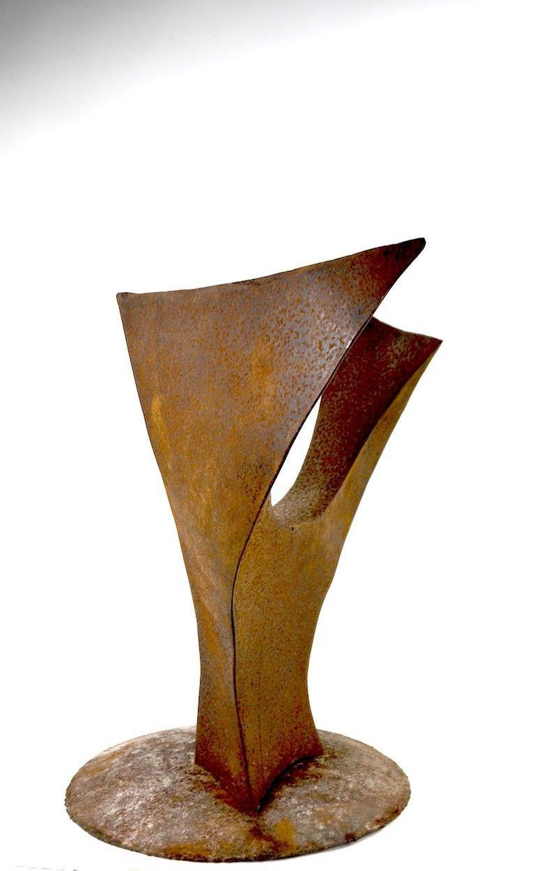 Brutalist Sculpture by Noted Artist Jack Hemenway For Sale 5