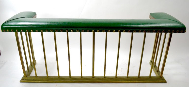 American Club Bench Fireplace  Fender  For Sale