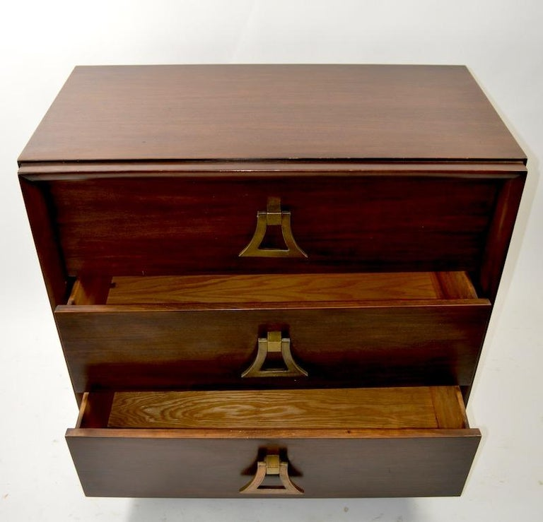 Mahogany Dresser by Harjer In Good Condition For Sale In New York, NY