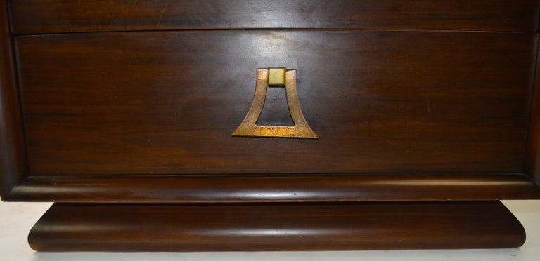 20th Century Mahogany Dresser by Harjer For Sale