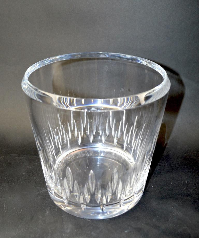 Hollywood Regency Crystal Champagne Ice  Bucket For Sale