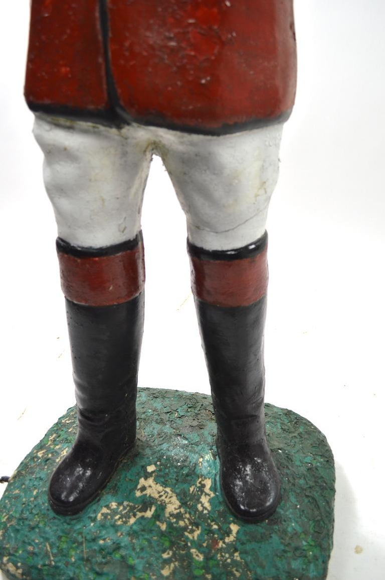 Cement Lawn Jockey For Sale 2