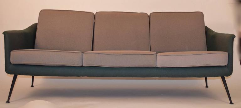 Mid-20th Century  Atomic Style Mid-Century Modern Swedish Sofa For Sale