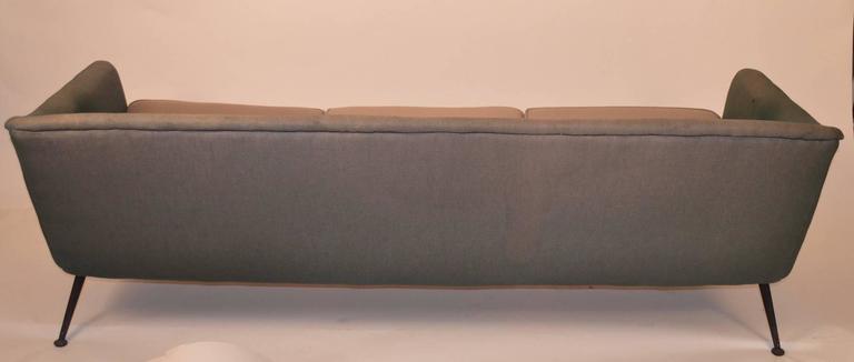 Atomic Style Mid-Century Modern Swedish Sofa For Sale 2