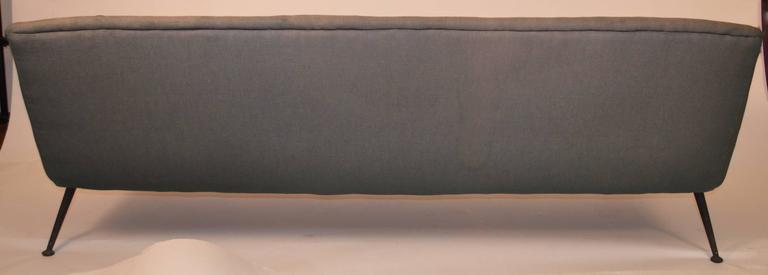 Atomic Style Mid-Century Modern Swedish Sofa For Sale 1