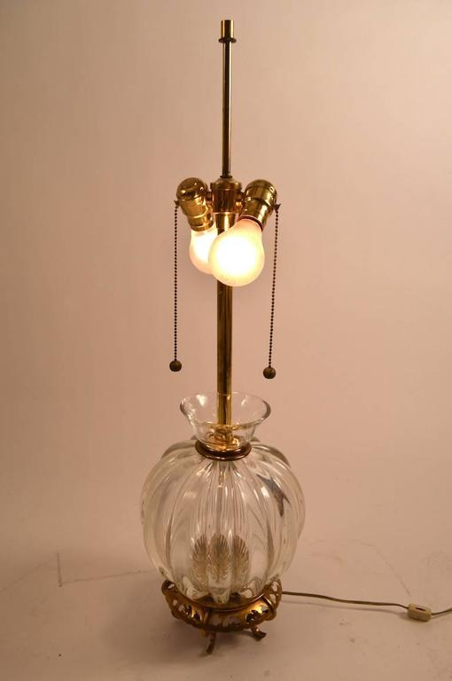 American Murano Lamp by Marbro For Sale