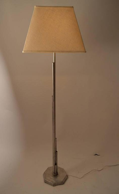 American Home Made Machine Age Skyscraper Floor Lamp For Sale