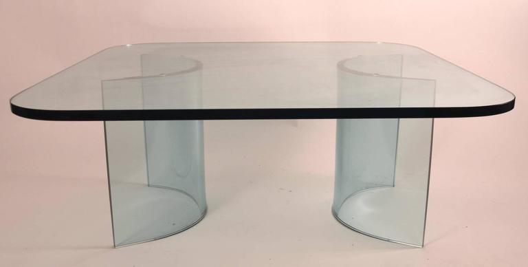 Solid glass top ( 1