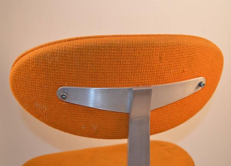 American Jens Risom Swivel Desk Chair