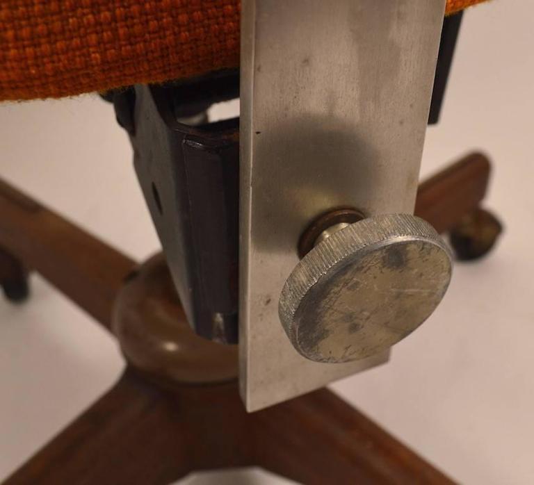 Mid-20th Century Jens Risom Swivel Desk Chair