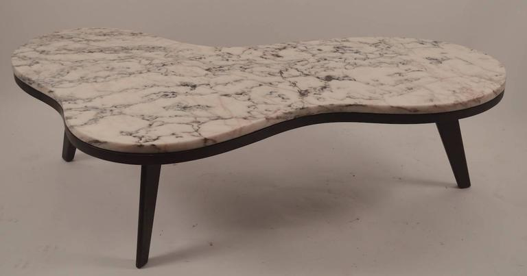 Pleasant Free Form Marble Top Coffee Table At 1Stdibs Caraccident5 Cool Chair Designs And Ideas Caraccident5Info