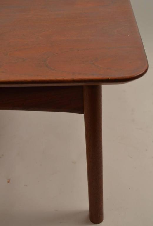 Mid-20th Century Danish Teak Coffee Table by Hvidt For Sale