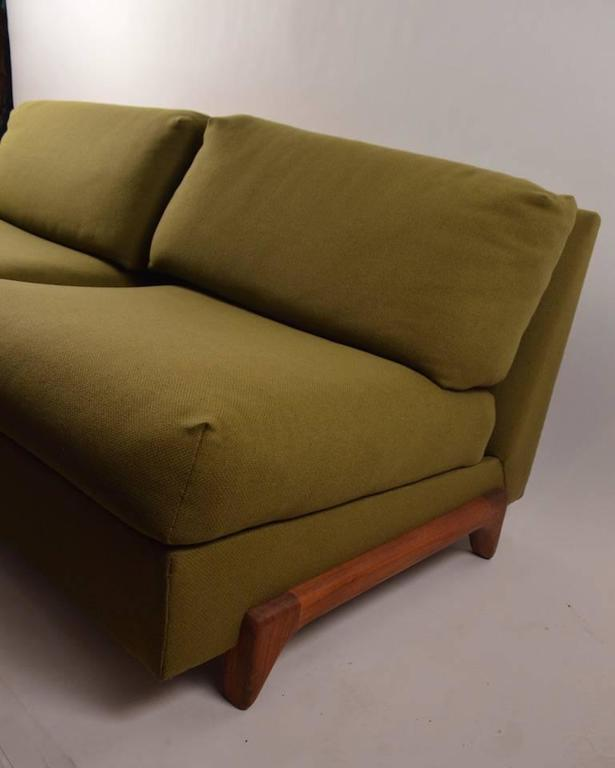Mid-Century Modern Loveseat Sofa by Craft Associates For Sale