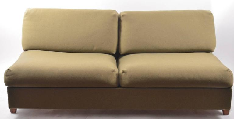 Mid-20th Century Loveseat Sofa by Craft Associates For Sale