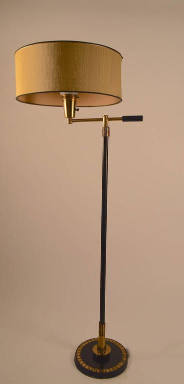 Mid Century Floor Lamp By Stiffel For Sale At 1stdibs