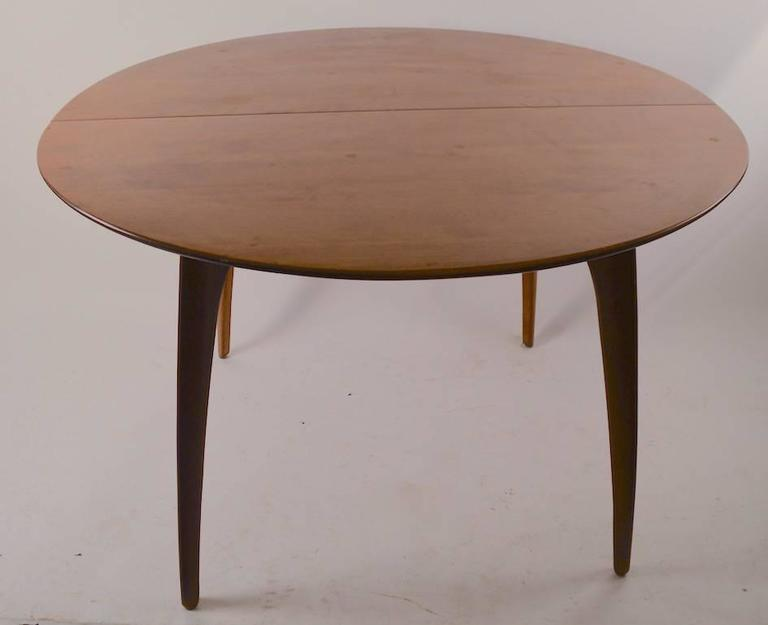 round conant ball dining table for sale at 1stdibs