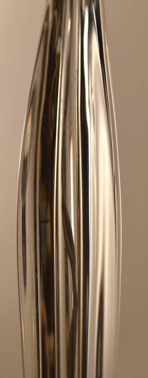 Art Glass Lamp by Daum In Excellent Condition For Sale In New York, NY