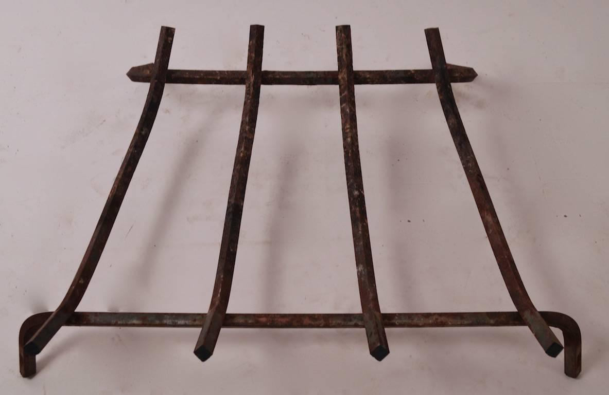 Mid Century Fireplace Grate For Sale At 1stdibs