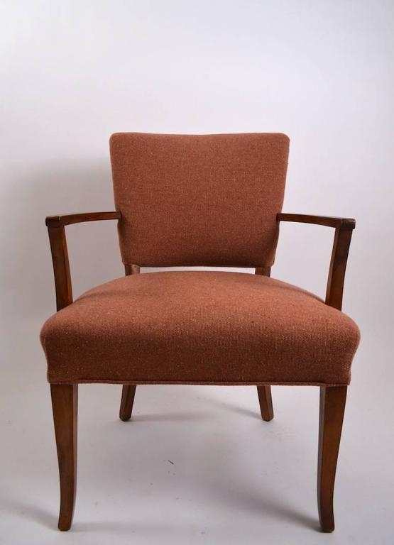 Art Deco Stylish Pair of Armchairs For Sale