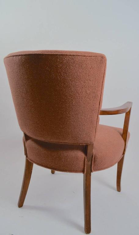 Mid-20th Century Stylish Pair of Armchairs For Sale