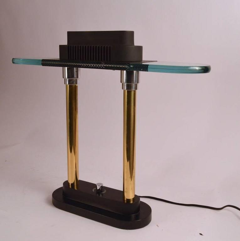 Robert Sonneman For George Kovacs Post Modern Desk Lamp At