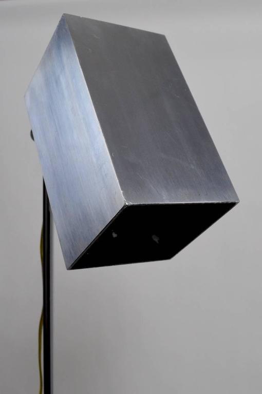 Mid-Century Modern Pair of Sonneman for Kovacs Adjustable Floor Lamps For Sale